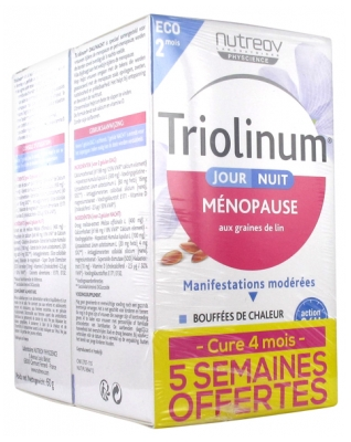 Nutreov Triolinum Day & Night 2 x 120 Capsules