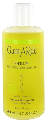 Gamarde Organic Draining Massage Oil 200ml