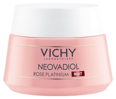 Vichy Neovadiol Rose Platinium Revitalizing and Replumping Night Cream 50ml