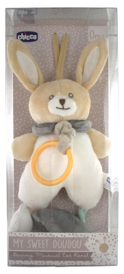 Chicco My Sweet Doudou Mon Lapin Musical de Voyage