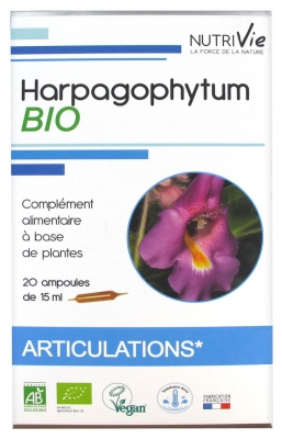 Nutrivie Harpagophytum Bio 20 Ampoules