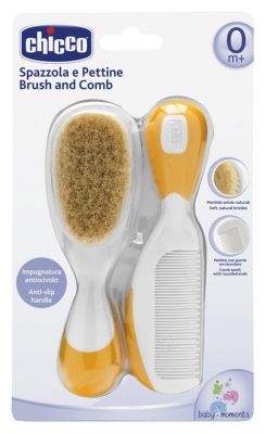 Chicco Brush and Comb 0 Month and +