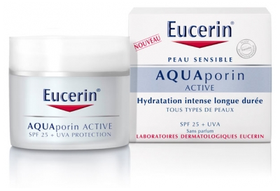 Eucerin Aquaporin Active Moisturising Care for All Skins Types SPF 25 + UVA 50ml