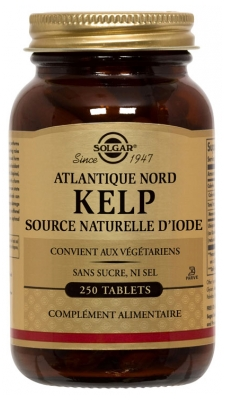 Solgar Kelp 250 Tablets