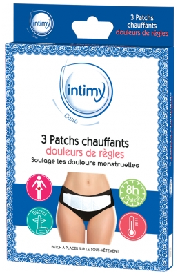 Intimy Care 3 Menstrual Pain Heating Patches