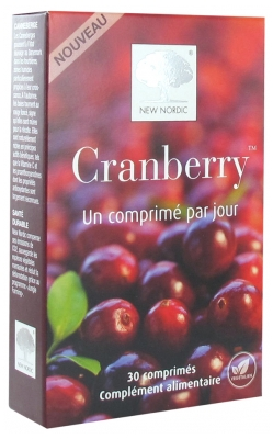 New Nordic Cranberry 30 Tablets