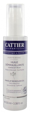 Cattier Pureté Divine Makeup Remover Oil 100ml