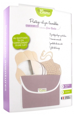 Les Tendances d'Emma Collection Eco Belle Washable Daily Panty-Liners 3 Panty-Liners