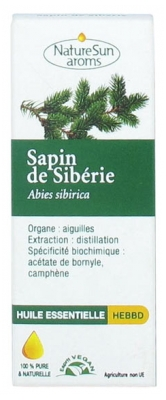 NatureSun Aroms Essential Oil Siberian Fir (Abies Sibirica) 10ml