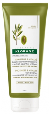 Klorane Conditioner with Essential Olive Extract 200ml