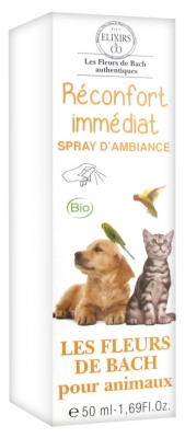 Elixirs & Co Immediate Relief Room Spray for Pets 50ml