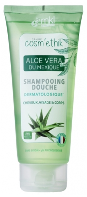 MKL Green Nature Cosm'Ethik Shampooing Douche Aloe Vera du Mexique 200 ml