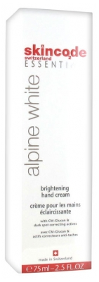 Skincode Essentials Alpine White Brightening Hand Cream 75ml