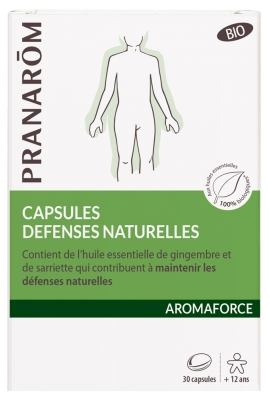 Pranarôm Aromaforce Cápsulas Defensas Naturales Bio 30 Cápsulas