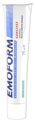 Emoform Dentifrice Gencives Arôme Menthe 75 ml