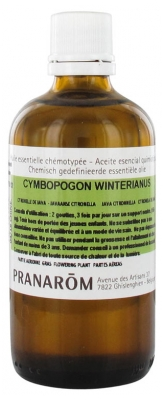 Pranarôm Essential Oil Java Citronnella (Cymbopogon winterianus) 100 ml