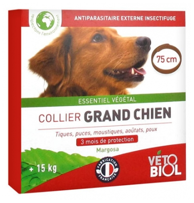 Vétobiol Collier Grand Chien 1 Collier