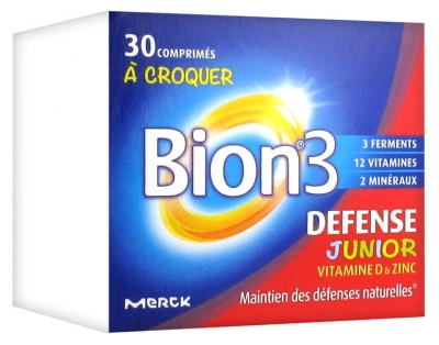 Bion 3 Defense Junior 30 Tablets to Crunch