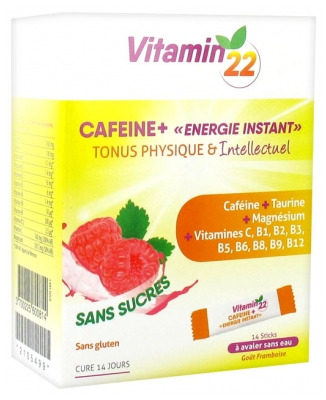 Ineldea Vitamin'22 Cafeine+ 14 Sticks