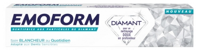 Emoform Diamant Dentifrice Soin Blancheur 75 ml