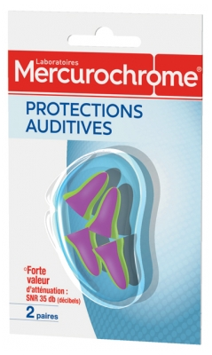 Mercurochrome Hearing Protections 2 Pairs