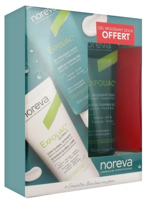 Noreva Exfoliac Global 6 Intensive Global Care 30ml + Gentle Foaming Gel 100ml Free