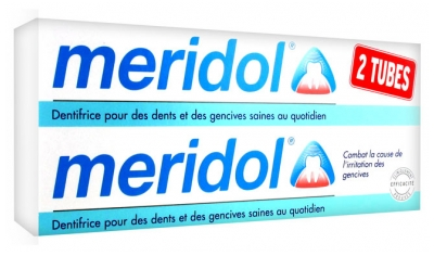Meridol Dentifrice Lot de 2 x 75 ml