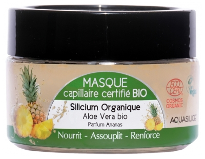Aquasilice Organic Hair Mask Pineapple 200ml