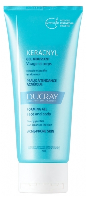 Ducray Keracnyl Foaming Gel Face And Body 200ml
