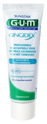 GUM Gingidex Dentifrice 75 ml