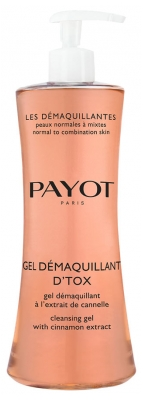 Payot Les Démaquillantes Gel Démaquillant D'Tox Cleansing Gel with Cinnamon Extract 200ml