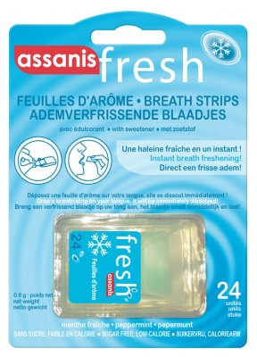 Assanis Fresh Breath Strips 24 Units