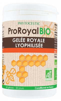 Phytoceutic ProRoyal Bio Lyophilized Royal Jelly 60 Capsules
