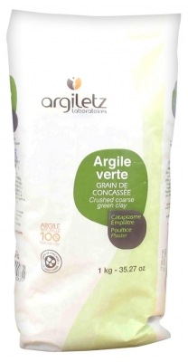 Argiletz Crushed Coarse Green Clay 1Kg