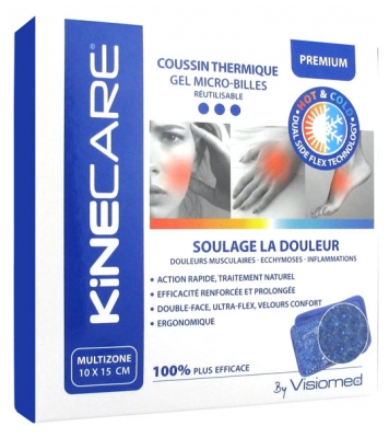 Visiomed Kinecare Multizone Thermic Cushion 10 x 15cm