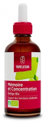 Weleda Organic Memory and Concentration Ginkgo 60ml