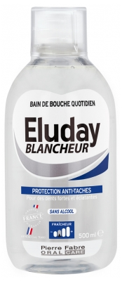 Pierre Fabre Oral Care Eluday Blancheur Bain de Bouche Quotidien 500 ml