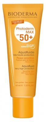 Bioderma Photoderm Max SPF 50+ Aquafluid 40ml