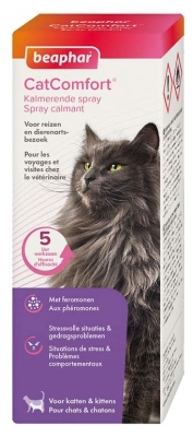 Beaphar CatComfort Soothing Spray with Pheromones for Cats and Kittens 60ml