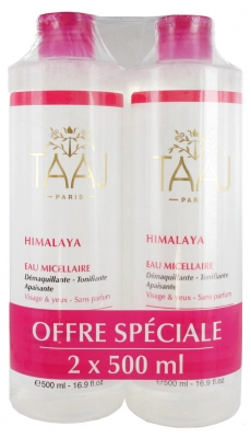 Taaj Himalaya Micellar Water Sensitive Skin 2 x 500ml