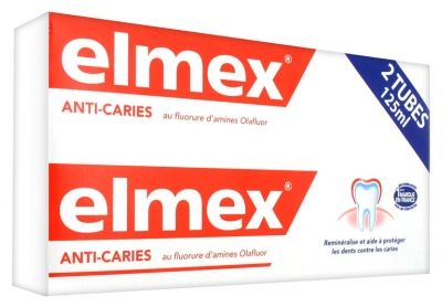 Elmex Decays Prevention Toothpaste 2 x 125ml