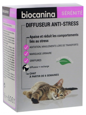Biocanina Anti-Stress Diffuser Cat 45ml