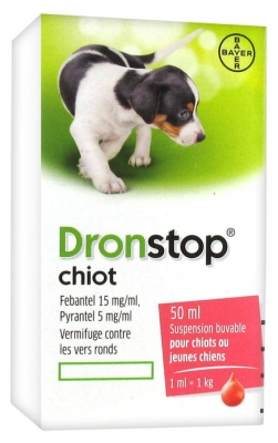 Bayer Dronstop Puppy Drinkable Suspension 50ml
