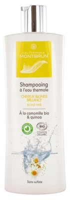 Montbrun Shampooing à l'Eau Thermale Cheveux Blonds Brillance 250 ml