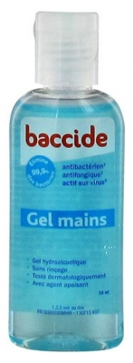 Baccide No-Rinse Hands Gel 30ml