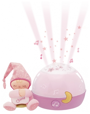 Chicco First Dreams Lampe Magic'Projection 0 Mois et +