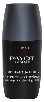 Payot Homme Optimale Déodorant 24H Roll-On Anti-Transpirant Rafraîchissant 75 ml