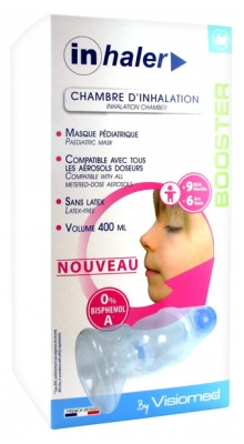 Visiomed Inhaler Booster Inhalation Chamber 9 Months - 6 Years Old