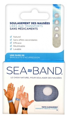 Sea Band Paire de Bracelets d'Acupression