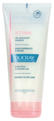 Ducray Ictyane Ultra-Rich Cleansing Gel 200 ml